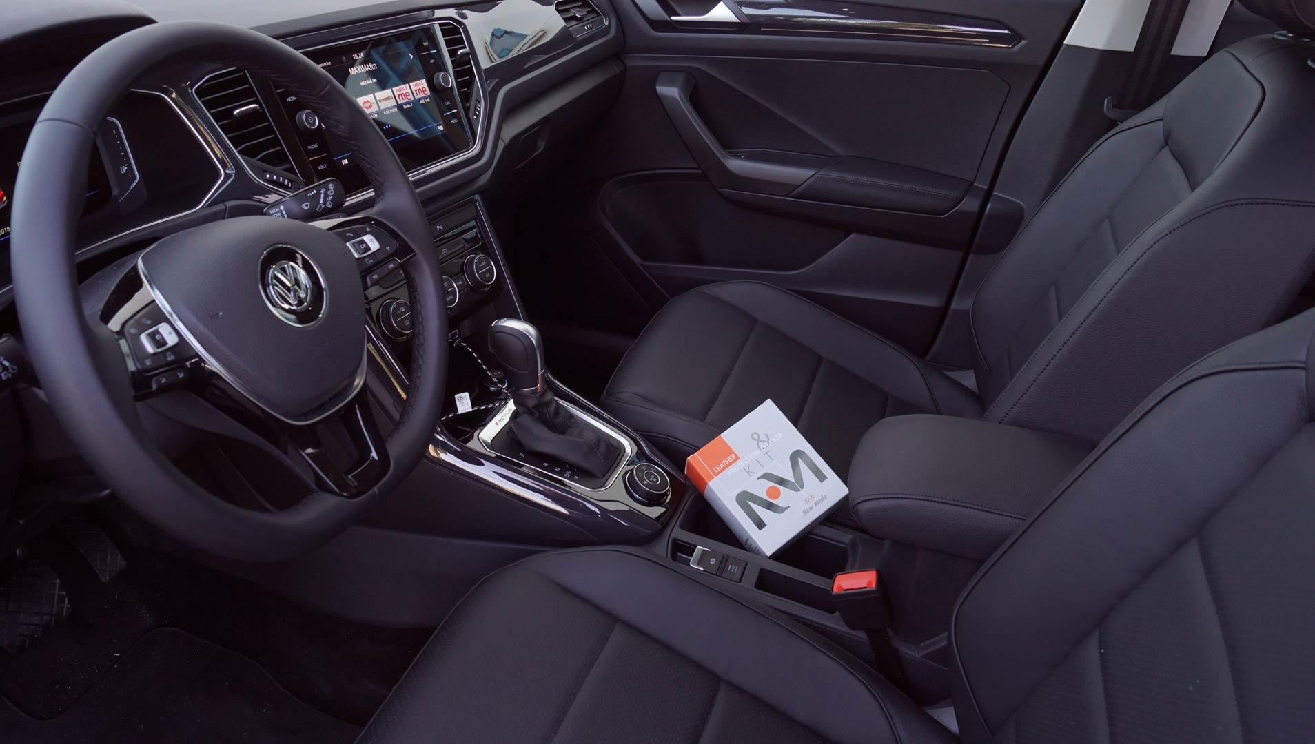 Tapicería de cuero Volkswagen